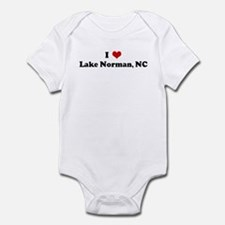 I Love Lake Norman, NC Onesie
