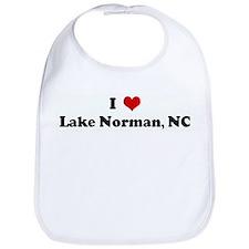 I Love Lake Norman, NC Bib