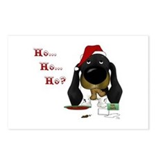 Doxie Santa Postcards (Package of 8)