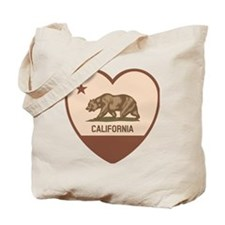 Love California - Retro Tote Bag