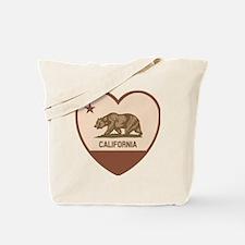Love California - Retro Tote Bag
