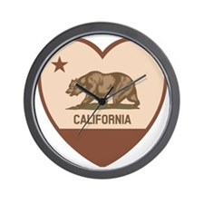 Love California - Retro Wall Clock