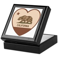 Love California - Retro Keepsake Box