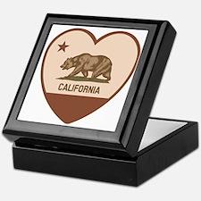 Love California - Retro Keepsake Box