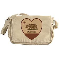 Love California - Retro Messenger Bag