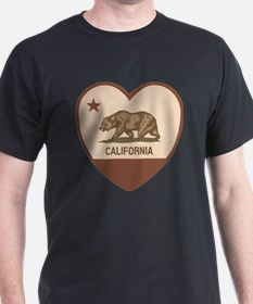 Love California - Retro T-Shirt