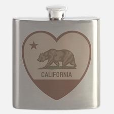 Love California - Retro Flask