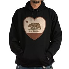 Love California - Retro Hoodie