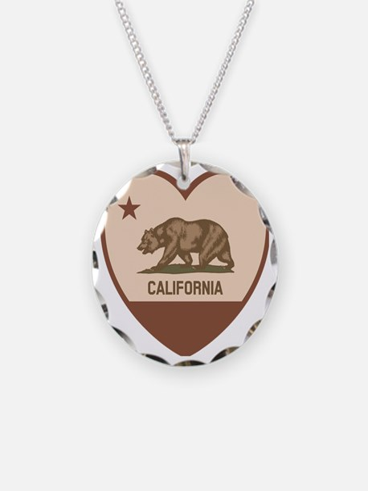 Love California - Retro Necklace