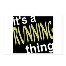 Running Thing Postcards (Package of 8)