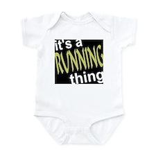 Running Thing Infant Bodysuit