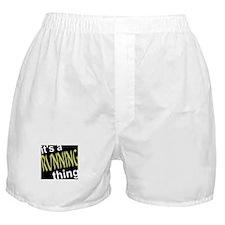 Running Thing Boxer Shorts