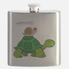 Snail & Turtle Flask