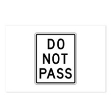 Do Not Pass - USA Postcards (Package of 8)