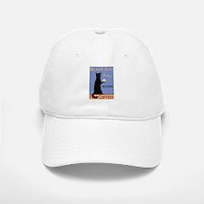 Black Cat Coffee Baseball Baseball Cap