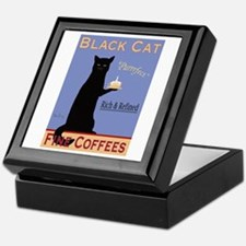 Black Cat Coffee Keepsake Box