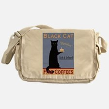 Black Cat Coffee Messenger Bag