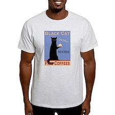 Black Cat Coffee T-Shirt