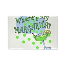 MARGARITA Rectangle Magnet