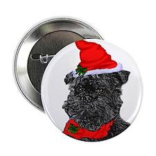 """Affenpinscher Christmas 2.25"""" Button (10 pack)"""