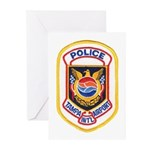 Tampa Airport Police Greeting Cards (Pk of 10)