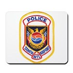 Tampa Airport Police Mousepad