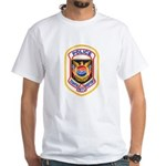 Tampa Airport Police White T-Shirt