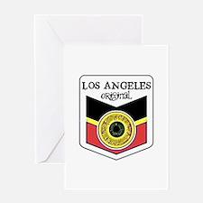 Los Angeles Skateboard Greeting Card
