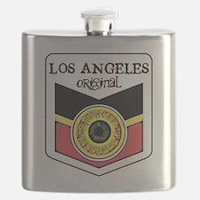 Los Angeles Skateboard Flask