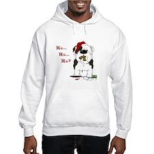 Bulldog Santa Hoodie