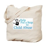 Child abuse Canvas Totes