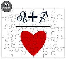 Leo + Sagittarius = Love Puzzle