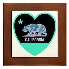 Love Cali Framed Tile