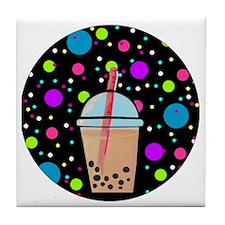 Bubble Tea Tile Coaster