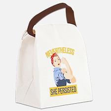 Unique Elizabeth Canvas Lunch Bag