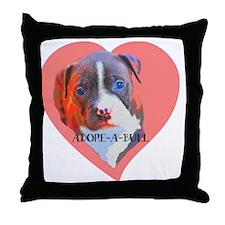 Adore-a-Bull Throw Pillow