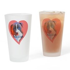 Adore-a-Bull Drinking Glass