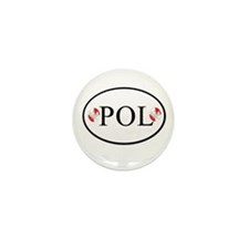 Polish Mini Button (10 pack)