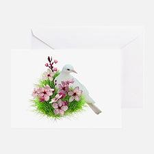 Spring Dove Greeting Card