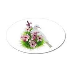 Spring Dove Wall Sticker