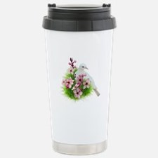 Spring Dove Stainless Steel Travel Mug