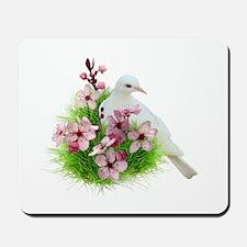 Spring Dove Mousepad