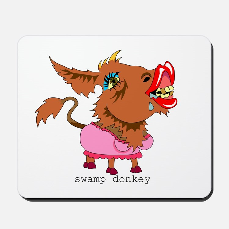 Swamp Donkey Mousepad