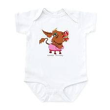 Swamp Donkey Infant Bodysuit