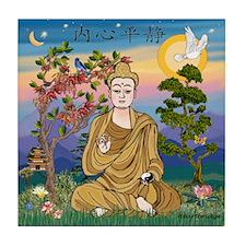 Buddha 1 - Inner Peace Tile Coaster