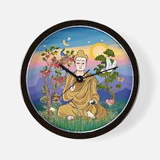 Buddha 1 - Inner Peace Wall Clock