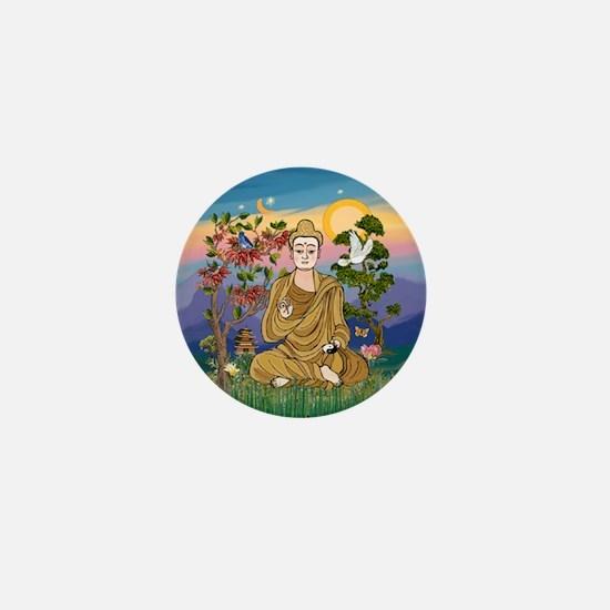 Buddha 1 - Inner Peace Mini Button