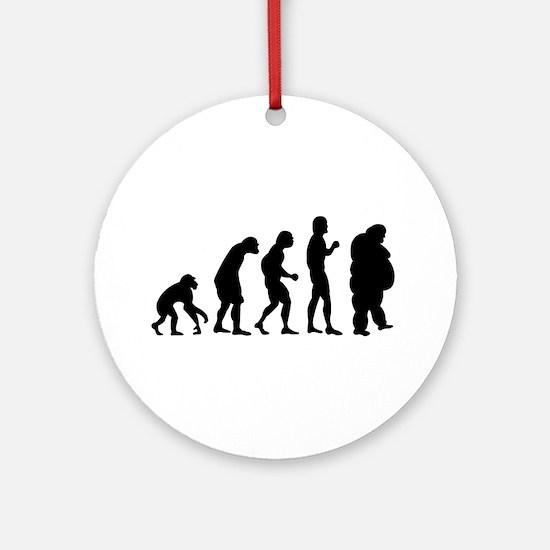 Evolution Ornament (Round)