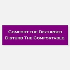 Comfort the Disturbed Bumper Bumper Bumper Sticker