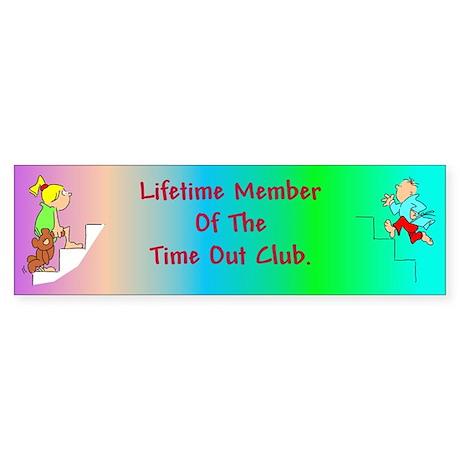 Time Out Club #2 Bumper Sticker
